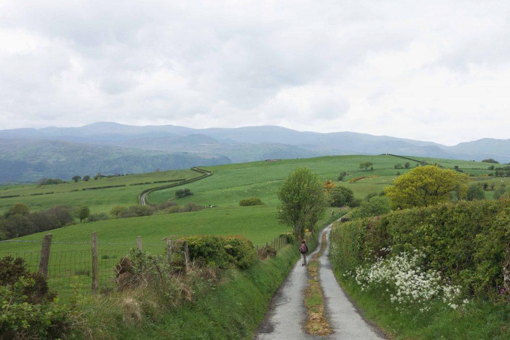 Op weg naar Snowdonia