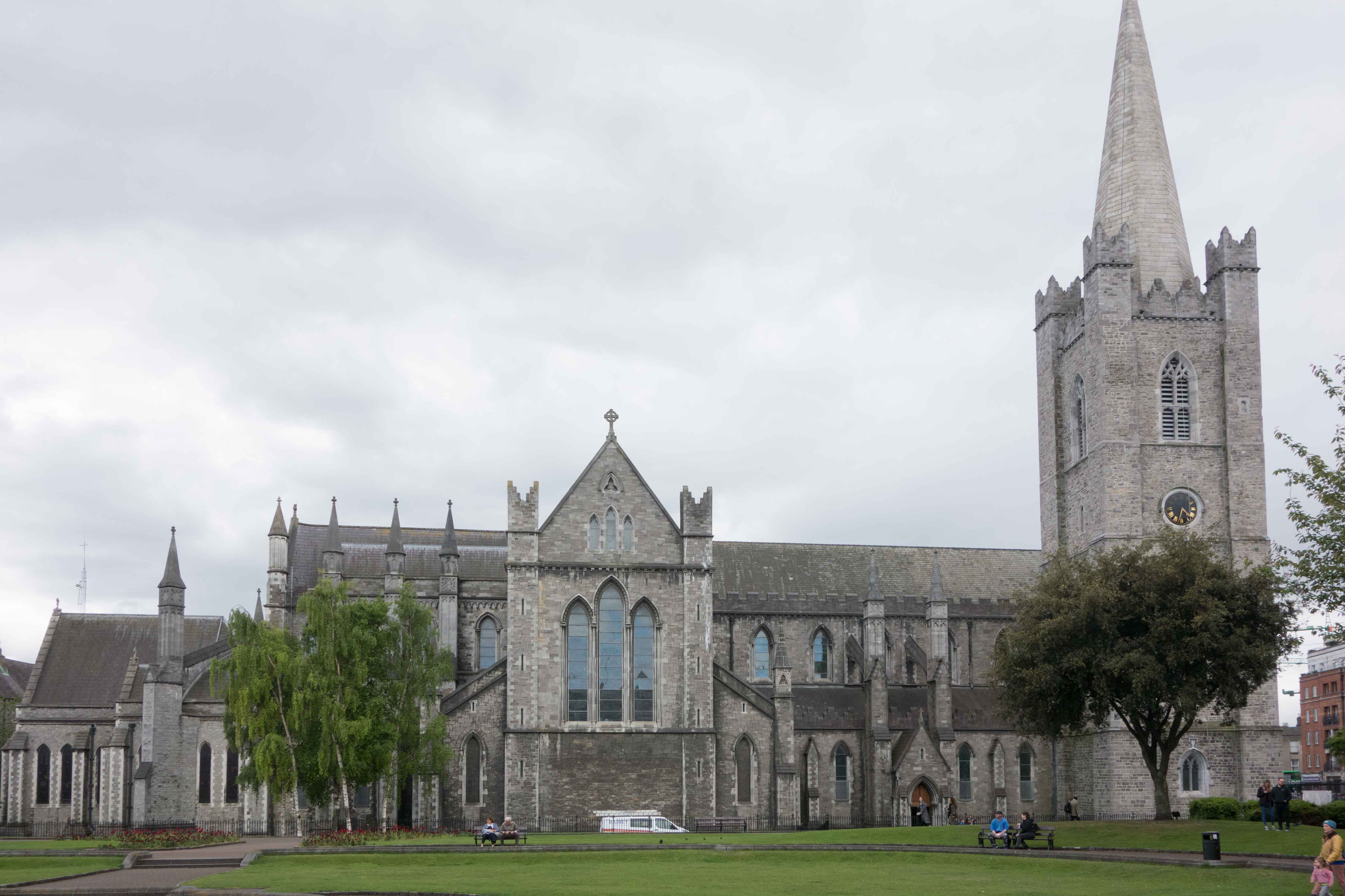 Saint Patricks Cathedral in Dublin
